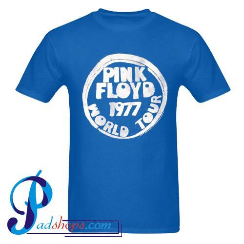 Pink Floyd 1977 World Tour T Shirt