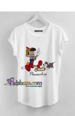 Pinocchio Unisex adult T shirt