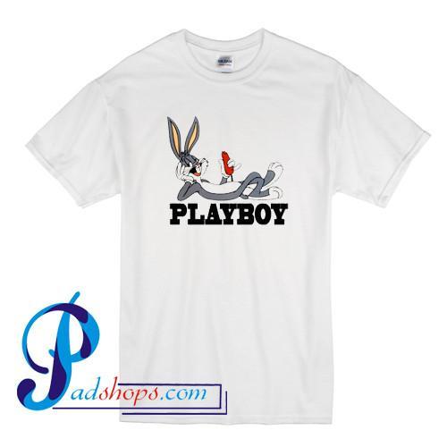 Playboy Bugs Bunny T Shirt