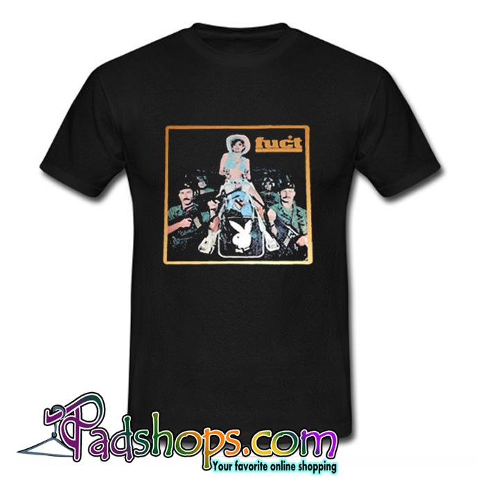 Playboy Cowgirl Defend Hard 2 Find FUCT T Shirt (PSM)