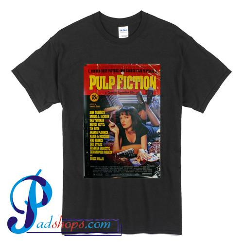 Pulp Fiction Poster T shirt