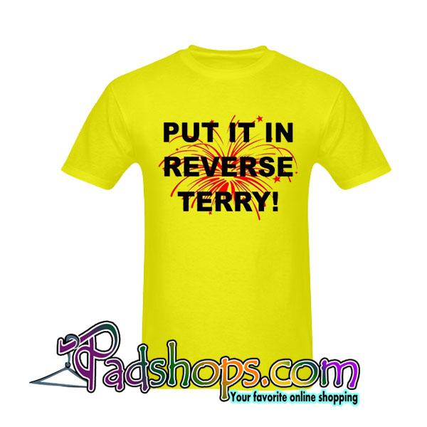 Put It reverse Terry Tan Top