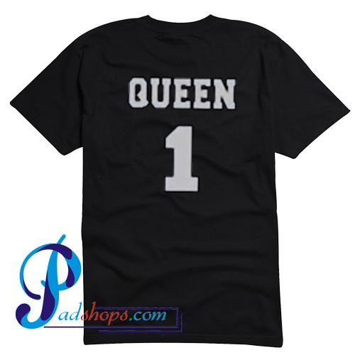 Queen 1 T Shirt Back