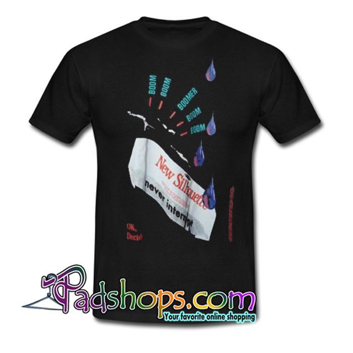 RAF Simons Ss14 Silhouette T shirt SL