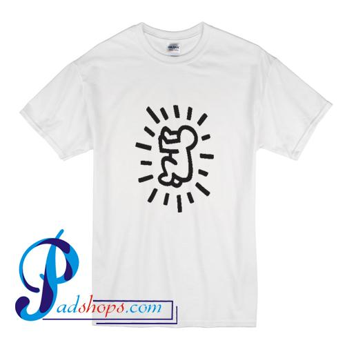 Radiant Baby Keith Haring T Shirt