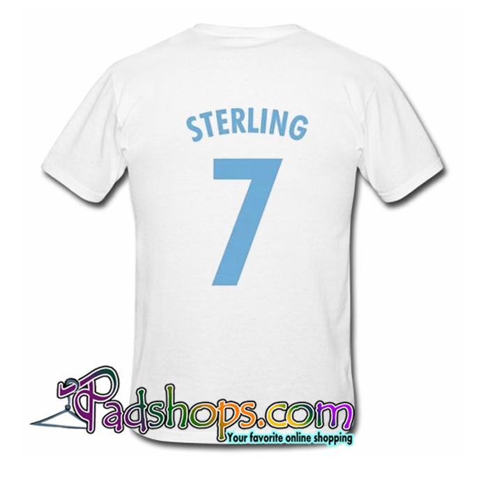 Raheem Sterling Back T Shirt SL