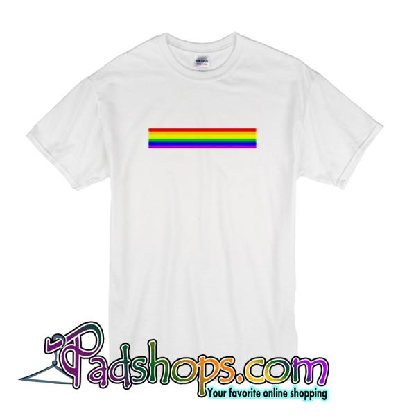Rainbow Stripe T-Shirt