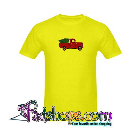 Red Truck in T-Shirt