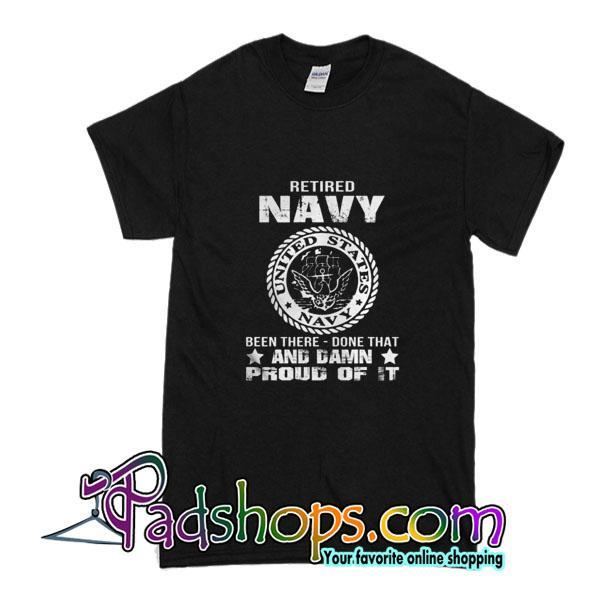 Retired Navy T-Shirt