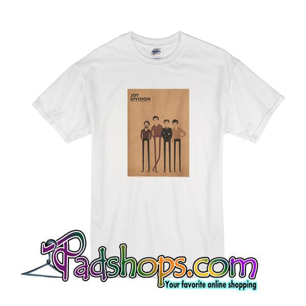 Retro Joy Division Punk Rock T-Shirt