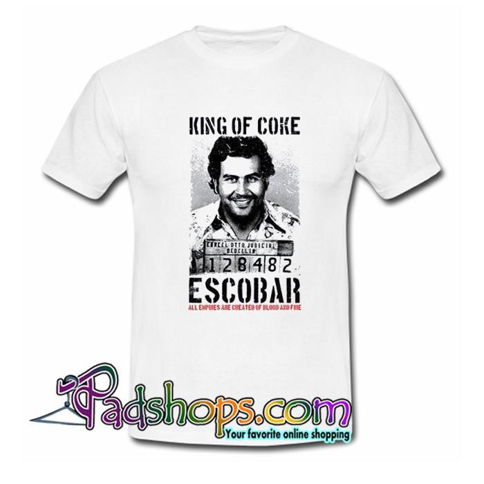 Rey De Coke Pablo Escobar T Shirt SL