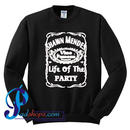 Shawn Mendes Life of the Party Sweatshirt