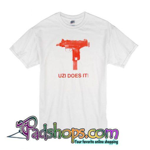 Skatemental Uzi Does It T-Shirt