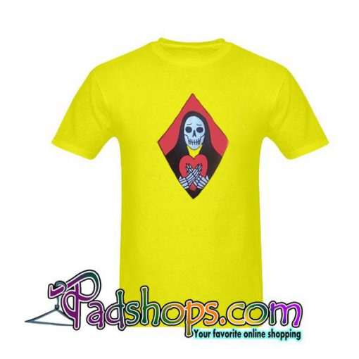 Skull Heart Skeleton T-Shirt