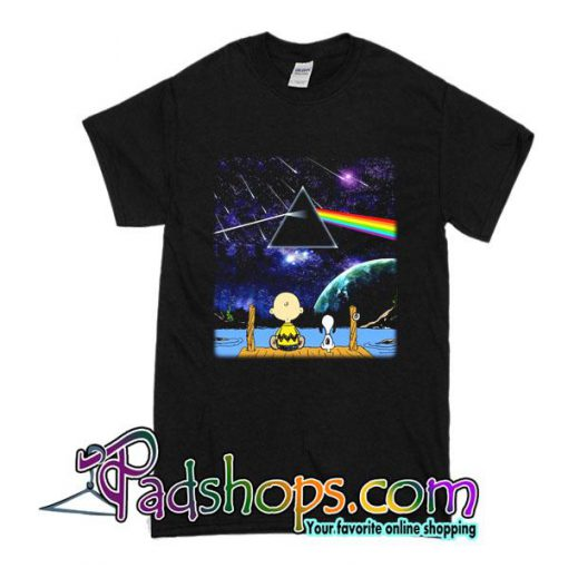 Snoopy Dark Side Of The Moon T-Shirt