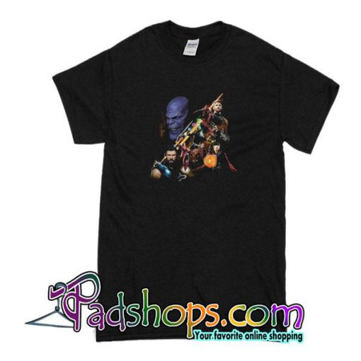 Superman VS Thanos With The Thanos Avengers Infinity War T-Shirt