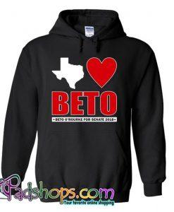 Texas Loves Beto ORourke for Senate 2018 Hoodie SL