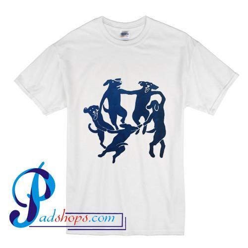 The Dance Cute Dogs T Shirt