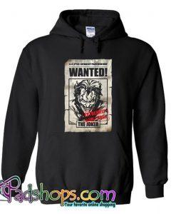 The Joker  Wanted Poster Hoodie SL