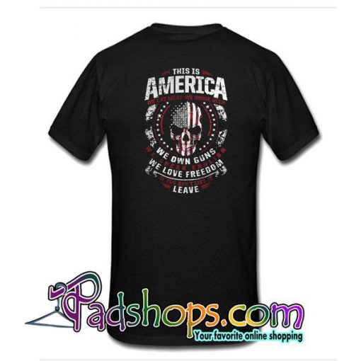 This Is America T-Shirt Back
