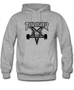 Thrasher Skate Goat Star hoodie