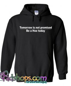 Tomorrow is not promised be a hoe today Hoodie SL