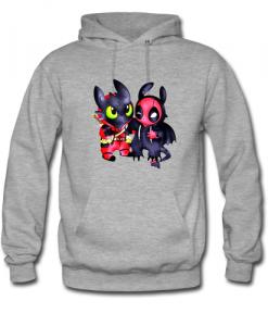 Toothless Swap Deadpool hoodie