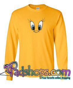 Tweety Bird Face Sweatshirt
