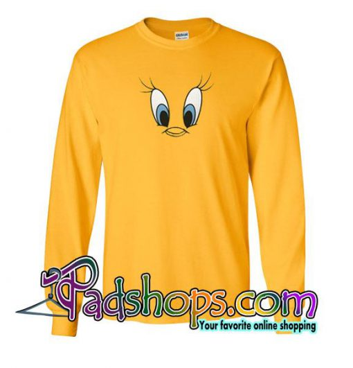 Tweety Bird Face Sweatshirt