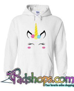 Unicorn Face Hoodie
