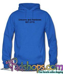 Unicorns And Rainbows 807-5779 Hoodie