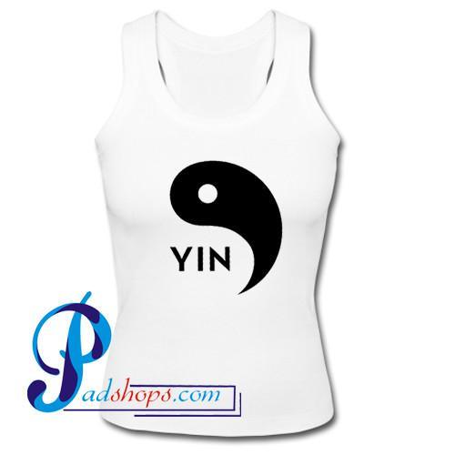 Yin Yang Logo Yin Tank Top