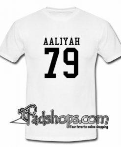 aaliyah 79 t-shirt
