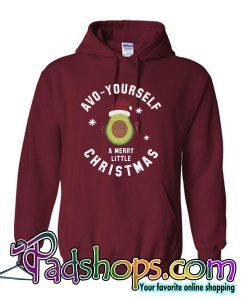 avo yourself a merry christmas hoodie