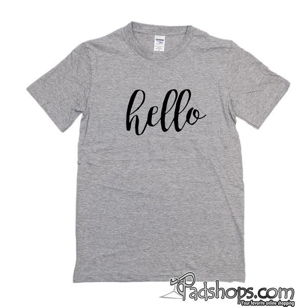 People Tree Organic 'Hello' T-shirt