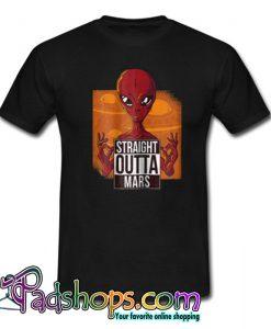 Alien Deadpool Straight Outta Mars T-Shirt-SL