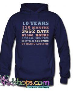 120 Months Hoodie NT
