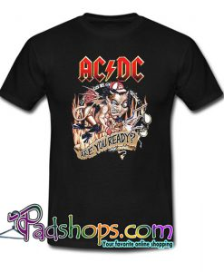 ACDC Are You Ready T-Shirt NT