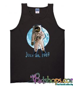 APOLLO 11 Astronaut Moon Landing Blue Moon Tank Top-SL