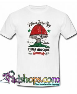 Allman Brothers Band Syria Mosque 1971 T-Shirt NT