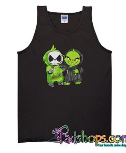 Baby Jack Skellington And Grinch Tank Top-SL