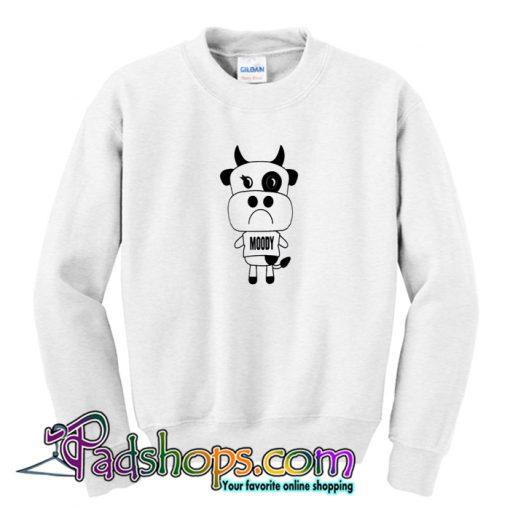 Moody Cow Sweatshirt-SL