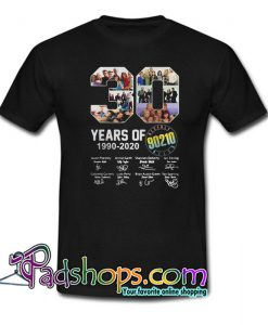 30 Years of Beverly Hills 90210 1990-2020 Signatures T-Shirt NT