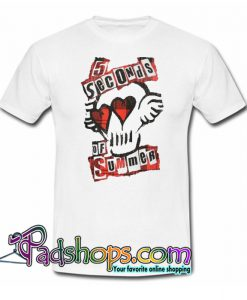 5 Seconds of Summer Heart of Rock Trending T Shirt NT