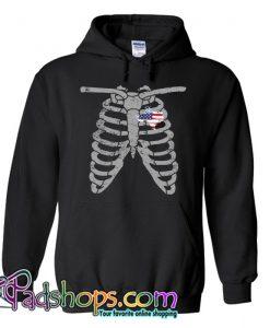 halloween ribcage Hoodie NT