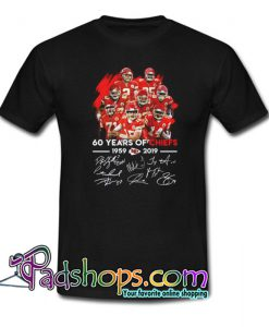 60 Years of Chiefs Signatures T-Shirt NT