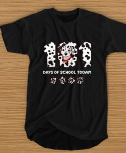 101 DAYS OF SCHOOL TODAY T-SHIRT