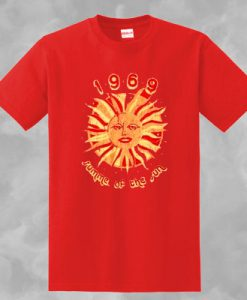 1969 SUMMER OF THE SUN T-SHIRT FOR MEN AND WOMEN