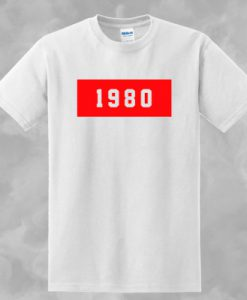 1980 T-SHIRT FOR MEN AND WOMEN