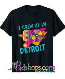 80s Memories tshirt Retro Eighties Detroit Gift Shirt